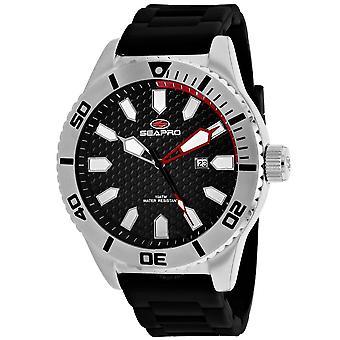 Seapro Brigade Quartz Black Dial Men's Watch SP1310
