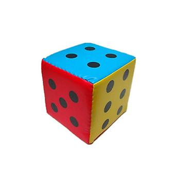 Super Large Dice Colorful Six Sided Sponge