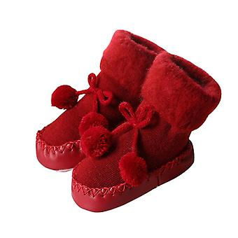 Newborn Baby Cotton High-quality Anti-slip Winter Slipper Shoes Boots For 0-24
