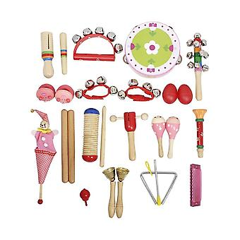 Musical toys percussion instruments band rhythm kit for kids children toddlers with tambourine