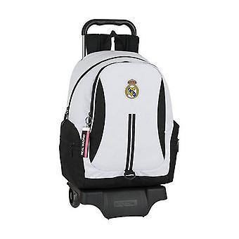 School Rucksack pyörillä 905 Real Madrid C.F. 20/21 Valkoinen Musta