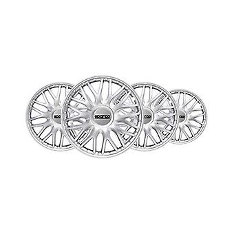 """Hubcap Sparco Roma 15"""" Silver (4 uds)"""
