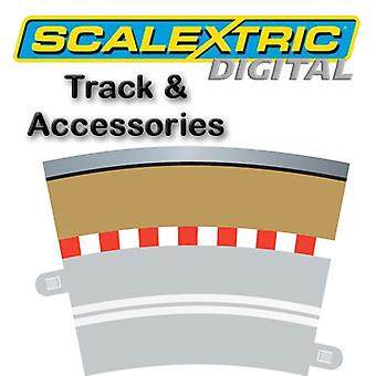 Scalextric Digital - Single Lane (R3 Kurve Grenze X 4)