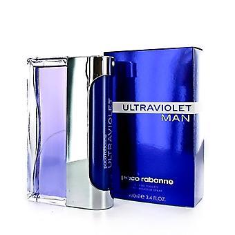 Ultraviolet Man by Paco Rabanne .-Eau de Toilette Spray 100 ml