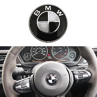 BMW 45mm Steering Wheel/AIRBAG Center Cap Cover Sticker Emblem Badge For BMW 1 3 5 6 7 Z3 Z4 X Series