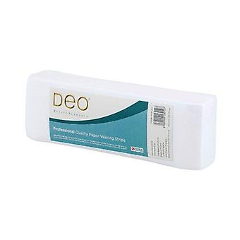 DEO Professional High Quality Strips for Waxing - Paper - Pack of 50