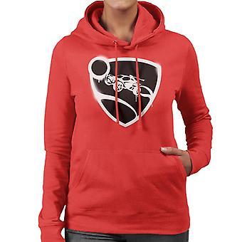 Rocket League Spray Painted Logo Kvinnor & s Hooded Sweatshirt