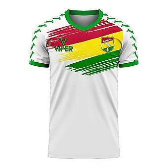 Bolivia 2020-2021 Away Concept Football Kit (Viper)