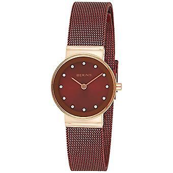 BERING Analoge Quartz Horloge Vrouw met roestvrij staal Band 10126-363