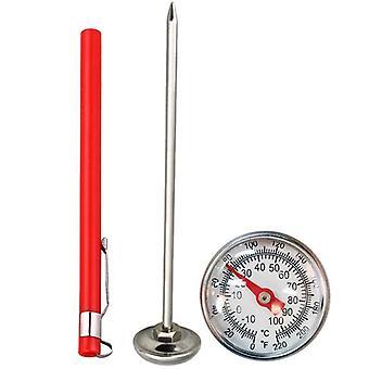 الفولاذ المقاوم للصدأ التربة ميزان الحرارة، الجذعية قراءة عرض الطلب، نطاق مئوي