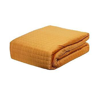 Coberteta acolchada de terciopelo Adela con fundas de almohada