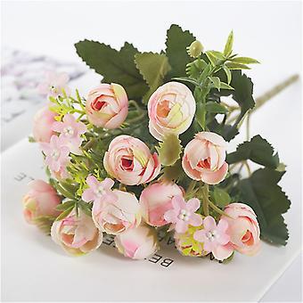 الزهور الاصطناعية برعم، الحرير فلوريس وهمية لديي الرئيسية، حديقة الزفاف