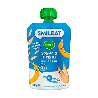 Sachet of Yogurt and Oatmeal ECO 12m + 100 g
