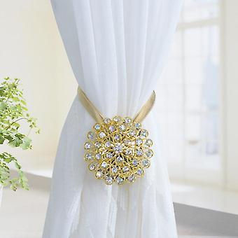 Riikinkukon kukat Design Magneettinen verho Clip