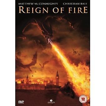 שלטונו של אש DVD