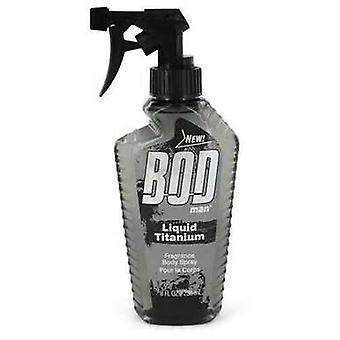 Bod Man Liquid Titanium By Parfums De Coeur Fragrance Body Spray 8 Oz (heren)