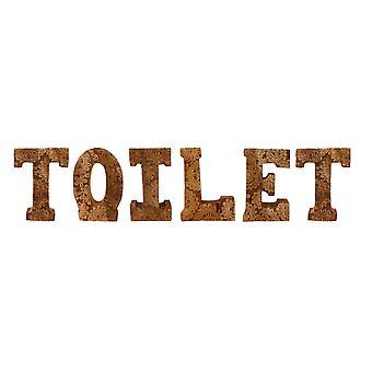 hånd utskårne tre blomsterbrev toalett