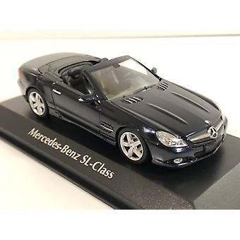 Maxichamps 940037531 Mercedes Benz SL Class 2008 Blue Metallic 1:43 Scale