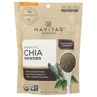 Navitas Naturals Organic Chia Seed Sprouted Powder, 8 Oz