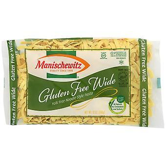 Manischewitz Noodle Egg Wide Pssvr Gol, Case of 12 X 12 Oz