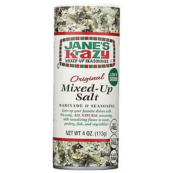 Janes Salt Krazy Sekaisin, kotelo 12 x 4 oz