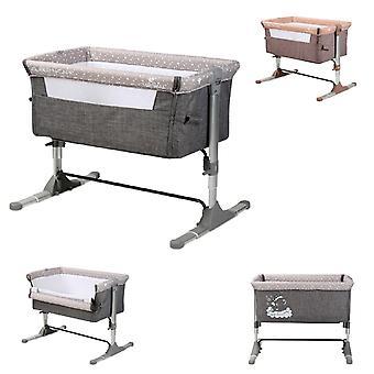 Cuna Lorelli Sleep n Cuidado desde el nacimiento, colchón, altura ajustable, apertura