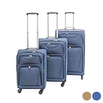 Matkustamon matkalaukku Set Cloth (3 Kpl)