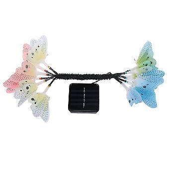 Led Solar Power Fairy Garden Lights Butterfly  For Wedding Party