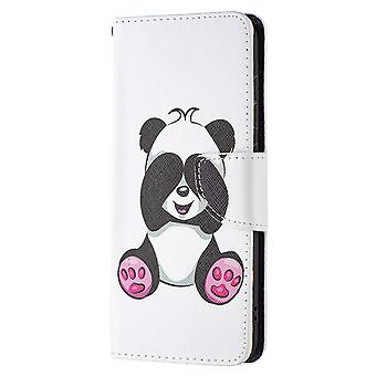 Samsung Galaxy S21 Fe Case Pattern Magnetic Protective Cover Panda