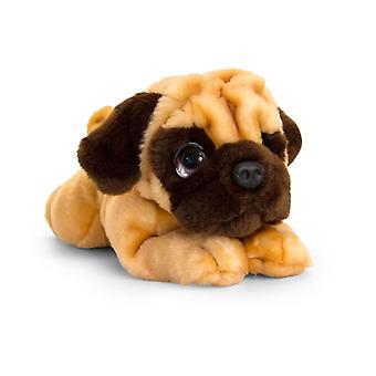 Keel Signature Cuddle Puppy Pug Dog Soft Toy 37cm
