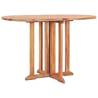 vidaXL Butterfly Garden Table Folding 120x70x75cm Teak Solid Wood