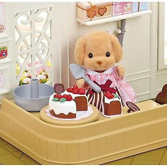 Sylvanian Families 5264 Box Confectionery And Figurine