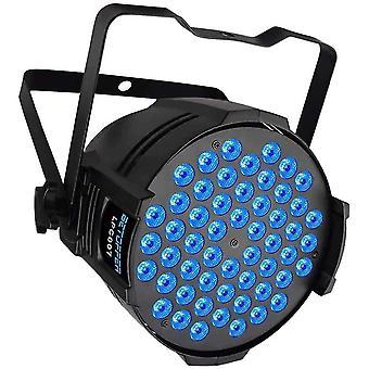 LED Par Scheinwerfer, 54 x 3W LEDs RGB 3-in-1 Par Strahler, professionelles DJ-Licht mit hoher