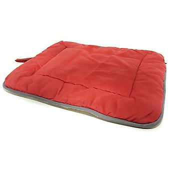 Dog Suede Crate Mat Red 53x76cm