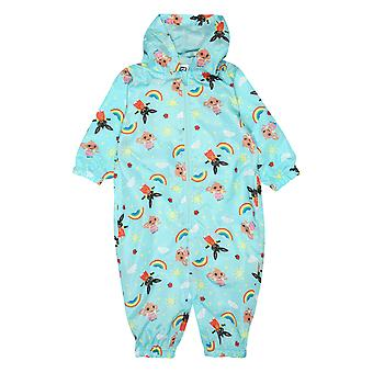 Oficial Kids Bing Bunny Puddle Suit All in One Rain Boys Girls