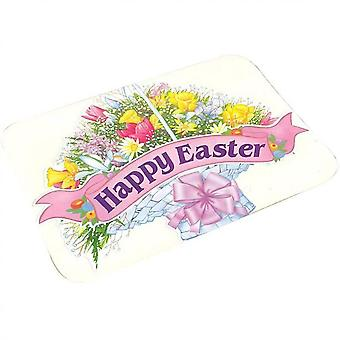 Easter Bunny Doormat Rabbit Entrance Mats Non-slip Welcome Mats Decorative Bathroom Mats(40 *