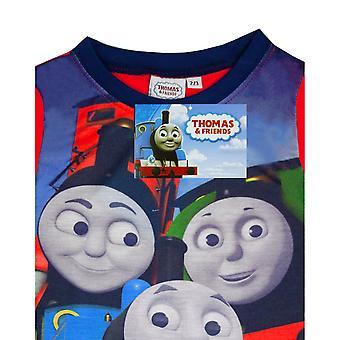 Thomas & Friends Boys Long-Sleeved Long Pyjama Set
