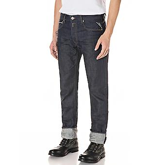 Replay Men's Aged Eco 0 Years Organic Cotton Jeans Straight Fit