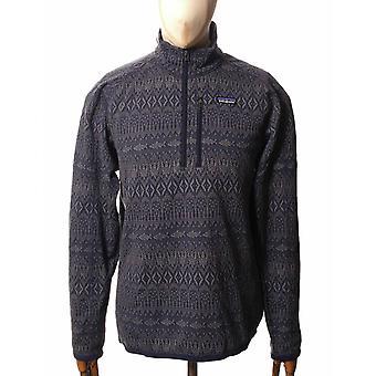 Patagonia Better Sweater 1/4-zip Fleece - Falconer Legend: New Navy