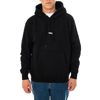Felpa uomo obey bold mini box fit premium hooded 112842705.blk