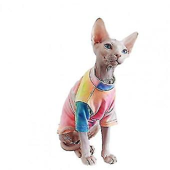Dog apparel style fashion pet shirt multi-color skin-friendly cotton cat two-legged t-shirt for summer dogs