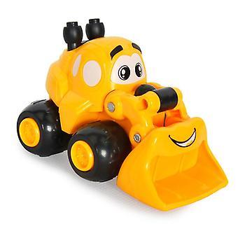 Baby Mini Classic Sarjakuva tekniikka Auto Lelu Mini Kaivinkone Hiekkamalli Traktori Lelu Kuorma-autot Mallit Lelu Ajoneuvot Lapsille Lahjat