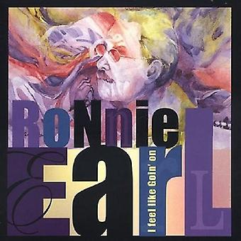Ronnie Earl - I Feel Like Goin' on [CD] USA import