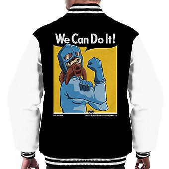 Protect The Valley Nausicaa of the Valley of the Wind Men's Varsity Jacket