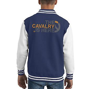 監視する騎兵隊はここに子供のバーシティ ジャケットです。