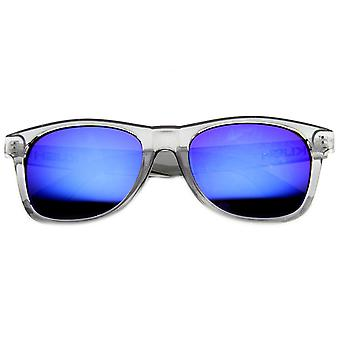 Crystal Frame Horn Rimmed Classic Style Sunglasses