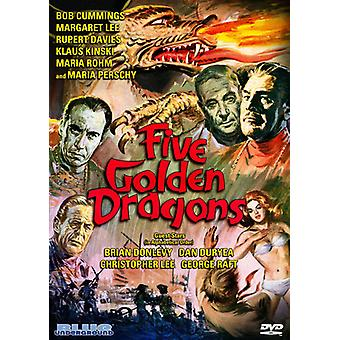 Five Golden Dragons [DVD] USA import