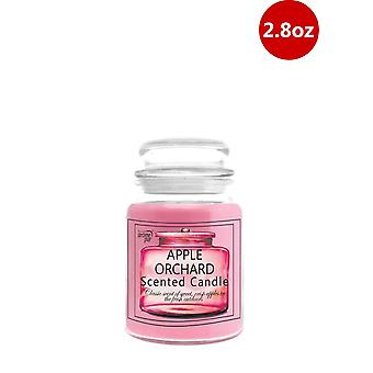 1 x Arome Pur 2.8 Oz Apple Orchard Scented Candle