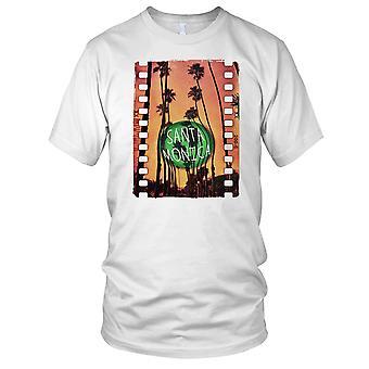 Santa Monica - DJ Ibiza Beach Surf Herren T Shirt