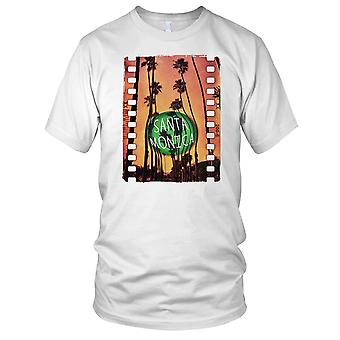 Santa Monica - DJ Ibiza Beach Surf Mens T Shirt